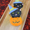 8 - Black Witch Cat: By Montreal Confections