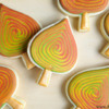 Best of Marbled Cookies - Fall Leaves