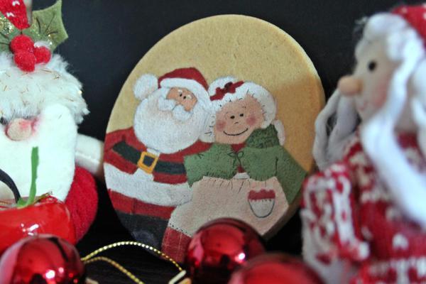 Mamá y Papá Noel -Las Dulzuritas de Glo - Little Icing
