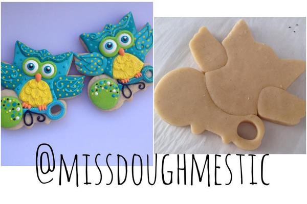 Little Owl with a Special Delivery - Miss Doughmestic - Baby Shower