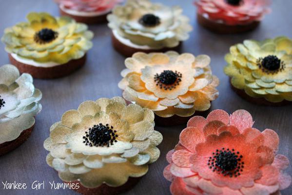 Wafer Paper Flower Final set pic