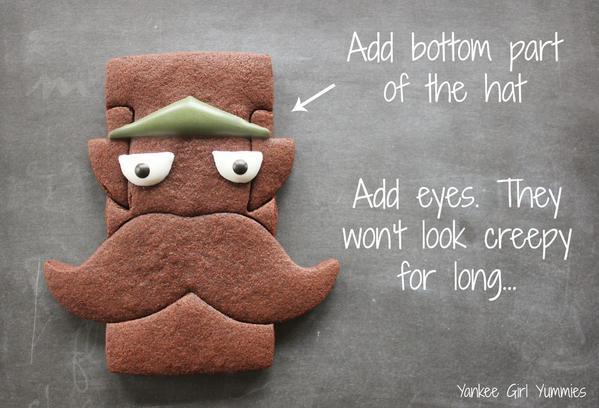 Step 4- adding eyes:hat