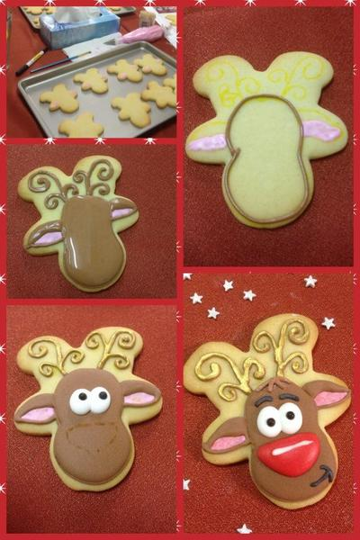 How to Make a Reindeer - The Cookie Studio - 1