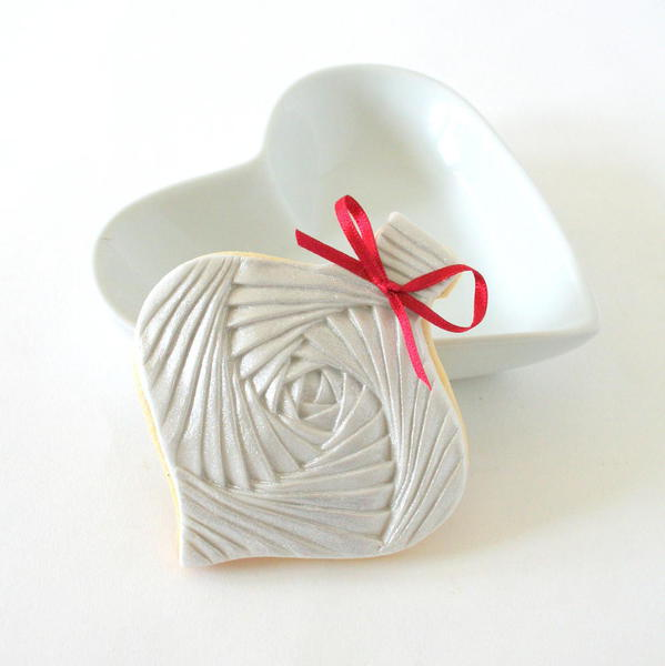 Iris Bauble-Moulded Biscuit by Sarah Joyce - 3