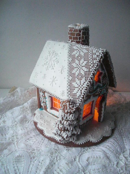 Gingerbread House with Chimney - RymskayaTatyana - 6