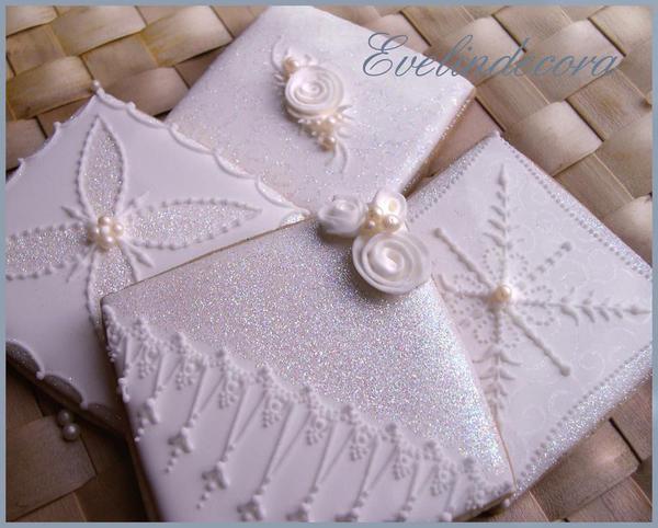 White Christmas Cookies - Evelindecora - 8
