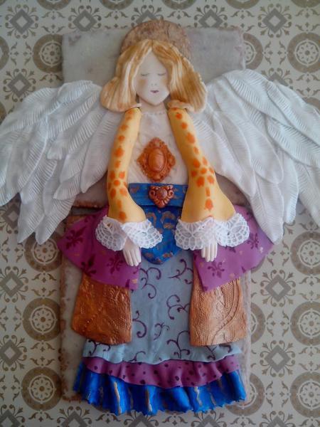 Christmas Angel by Au Claire de la Lune