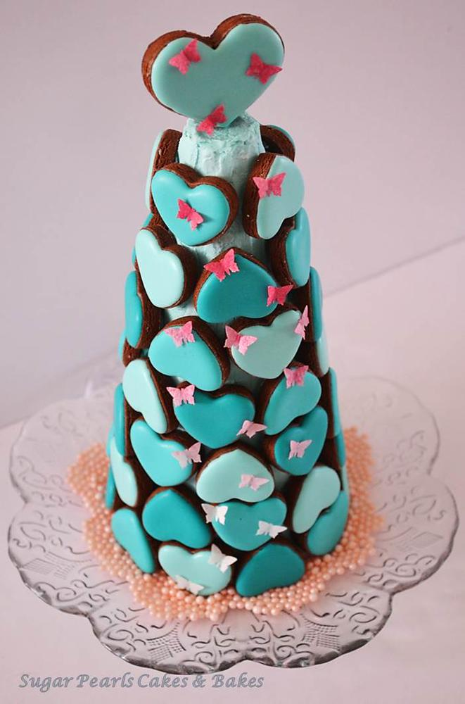 Debut Post Get Inspired With Sugar Pearls Heart Cookie