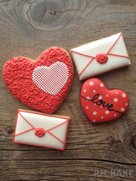 Valetines Day Cookies - RH Bake - 9