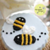 Bumblebee Cookies: Cookie and Photo by My Sweet Things