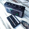 Chocolate Cassette Tape and Recorder: Photo and Chocolate Sweets by Dany Lind of Dany's Cakes