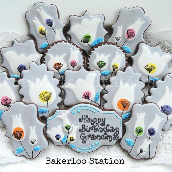 Mod Flowers Birthday - Bakerloo Station