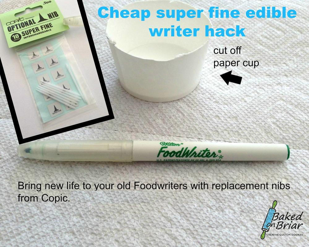 Cheap Superfine Edible Writer Hack | Cookie Connection