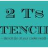 2 T's Stencils Logo/Banner