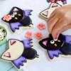 Simple Bat Cookies: Cookies and Photos by Lisa Snyder