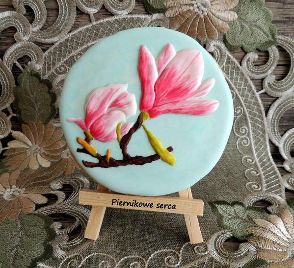 7 - Magnolia Flowers by Piernikowe Serca