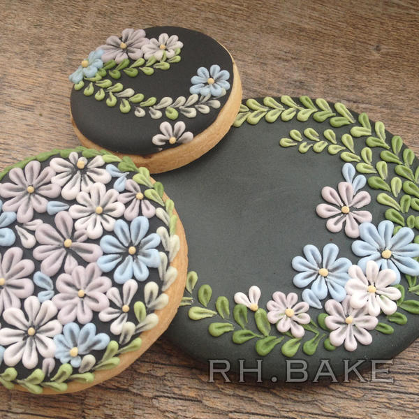 #5 - Flowers by RH (period) BAKE