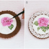 Steps 7 and 8 - Blending and Adding Lighting Effects: Cookies and Photos by Dolce Sentire