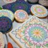 Crochet Cookies Close-up: Cookies and Photo by Liesbet Schietecatte
