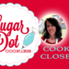 Cookier Close-up with Dotty Raleigh Banner: Photo/Logo Courtesy of Sugar Dot Cookies; Graphic Design by Julia M Usher