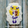 Purple Girl: By Love Bug Cakes and Cookies
