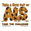 Take a Bite Out of ALS Banner: Graphic Design by Anita Cadonau-Huseby at Sweet Hope Cookies
