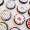 Cath Kidston-Inspired Wet-on-Wet Cookies: By Marie at LilleKageHus