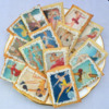 Edible Vintage Woman Ice Skaters: Selection of Edible Vintage Ice Skaters ranging from Showgirls to Pin-ups