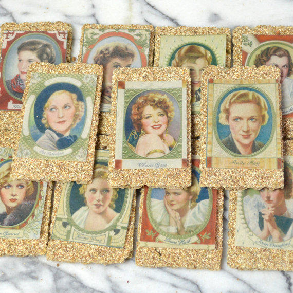 Edible Vintage Female Film Stars