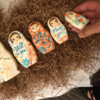Rebecca Weld's Matryoshka Dolls: Photo by Barb Florin