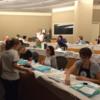 Design Seminar - Kari Assisting the Class: Photo by Barb Florin