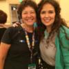 Me and Liz Adams (aka Arty McGoo): Photo by Barb Florin