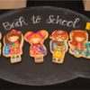 Back to School - First Place: Cookies by Stephanie Organes; Photo by Mike and Karen Summers