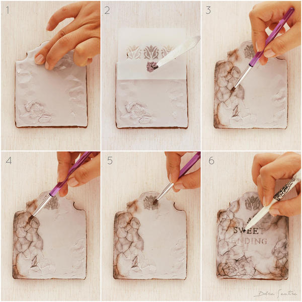 All Steps in One Spot!: Cookies and Photos by Dolce Sentire