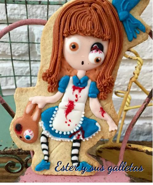 #4 - Halloween Zombie Girl by Ester y sus galletas