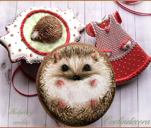 #1 - Hedgehog Cookies by Evelindecora