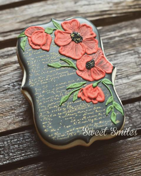 #3 - Brushed Poppied by Sweet Smiles
