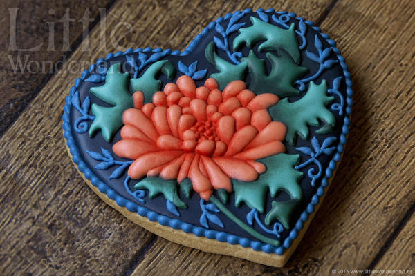 #4 - Chrysanthemum Cookie by Little Wonderland
