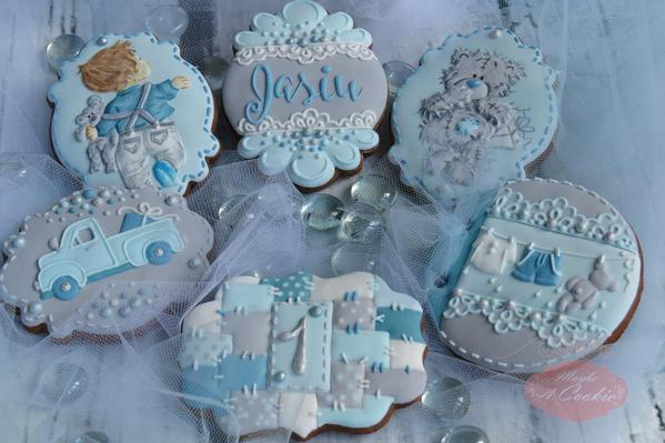 #8 - Baby Boy's First Birthday Set by Maybe a Cookie
