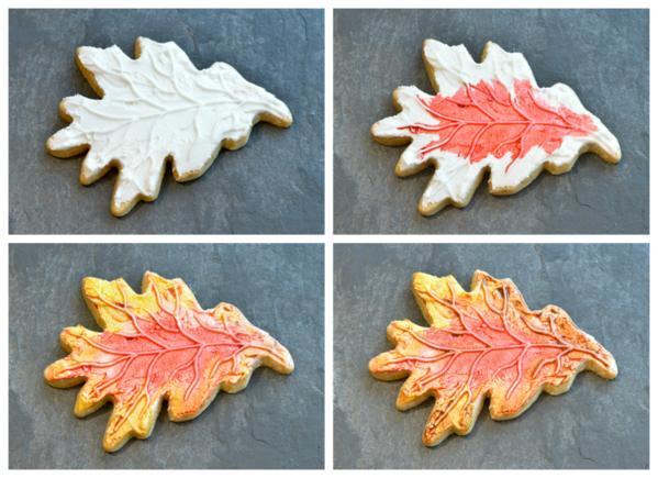 oak leaf Collage