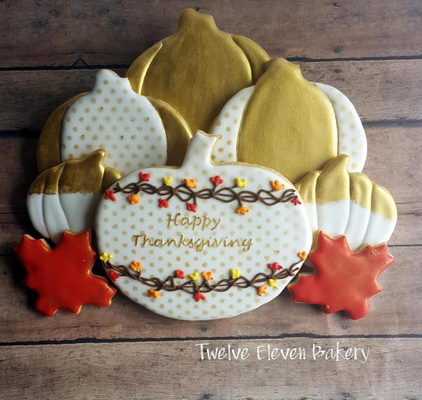 #5 - Golden Pumpkins by Shannon at Twelve Eleven Bakery