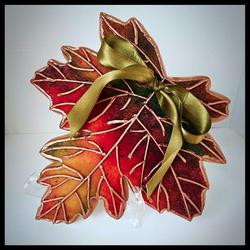 Fall Leaf Cookie