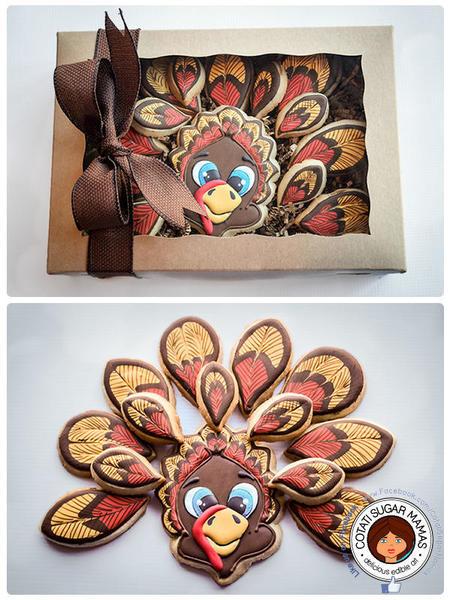 #1 - Thanksgiving Turkey by Isabelle at Cotati Sugar Mamas