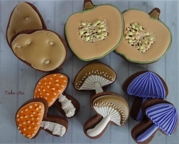 #3 - Autumn Food by Ryoko ~Cookie Ave.