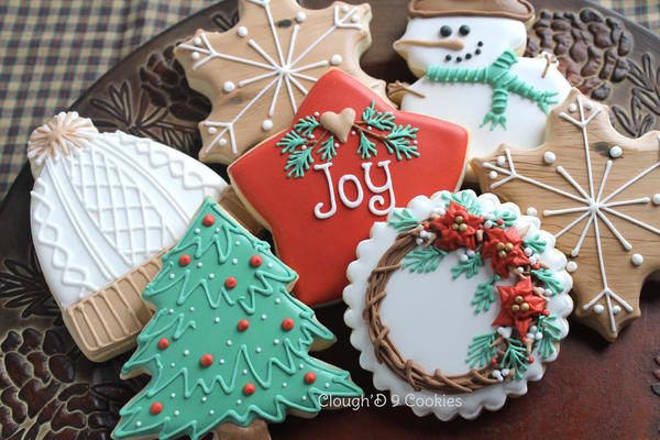 #5 - Rustic Christmas by Amy at Clough'D 9 Cookies
