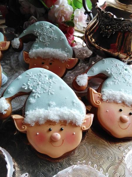 #6 - Flaky Little Elves by Teri Pringle Wood