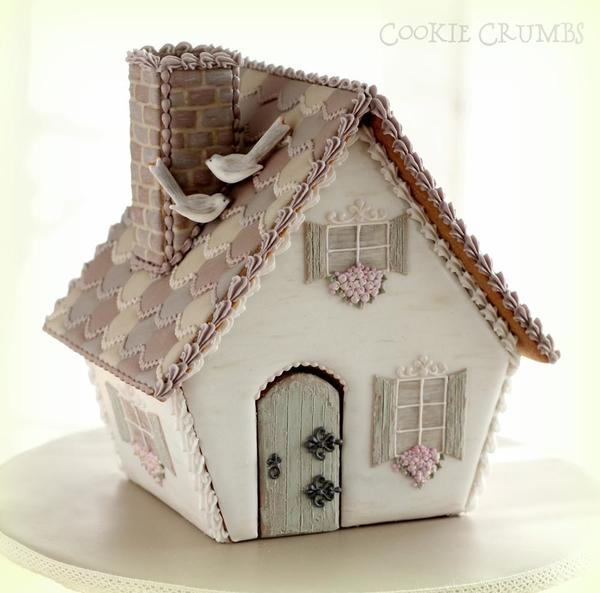 #1 - Gingerbread Fairy Cottage by mintlemonade (aka Cookie Crumbs)