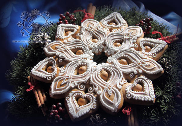 #8 - Gingerbread Star by Anikó Vargáné Orbán