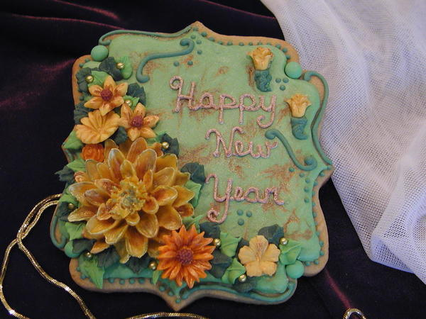 #7 - Happy New Year by Cookies Fantistique by Carol
