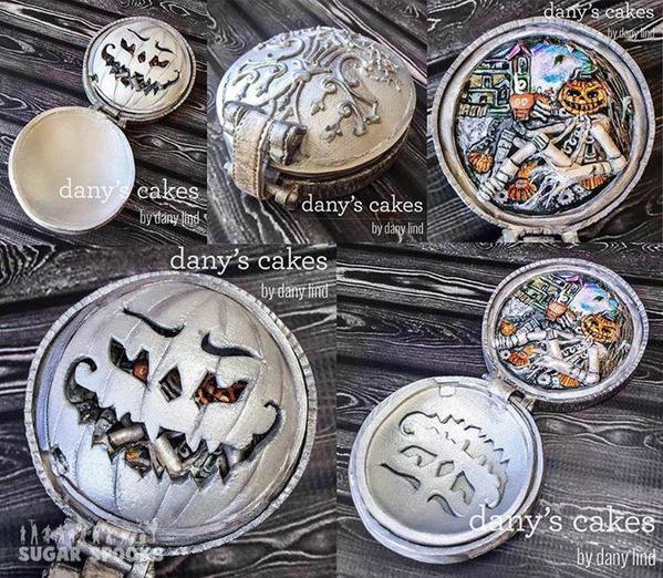 Halloween Locket Cookie